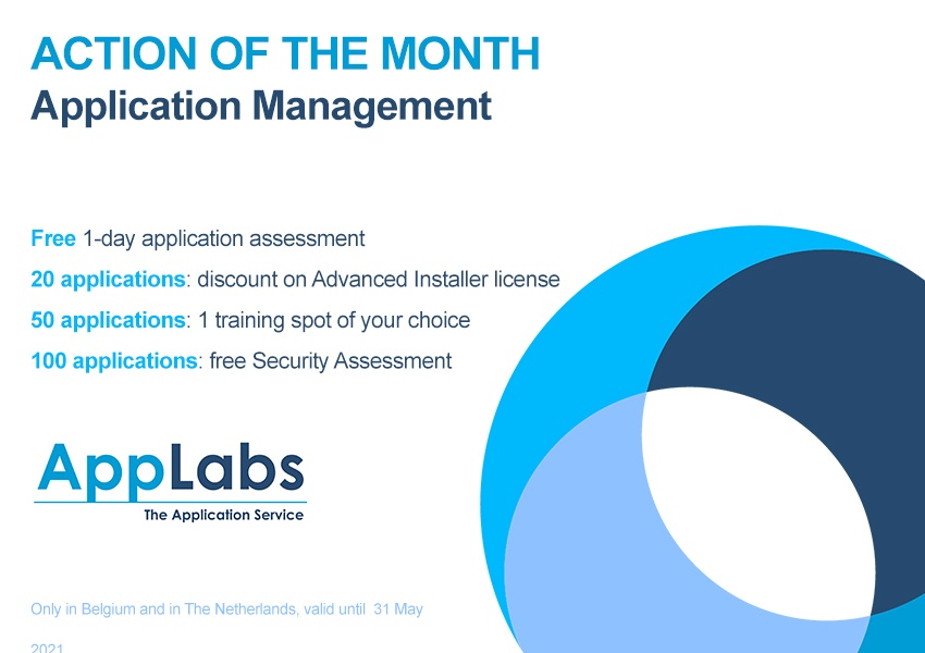Action of the month - AppLabs